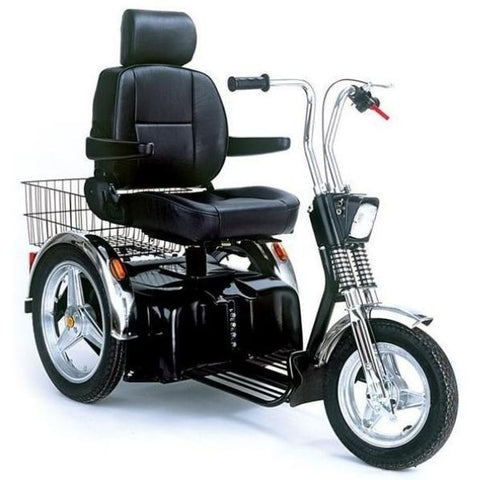 AFIKIM Afiscooter SE 3-Wheel Scooter-500 lbs Front View