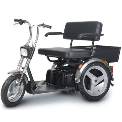 AFIKIM Afiscooter SE 3-Wheel Bariatric Scooter-500 lbs Left Side View