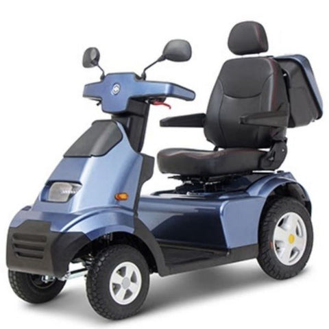 AFIKIM Afiscooter S 4-Wheel Scooter Blue Right Side View