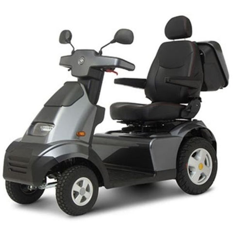 AFIKIM Afiscooter S 4-Wheel Scooter Dark Grey Side View