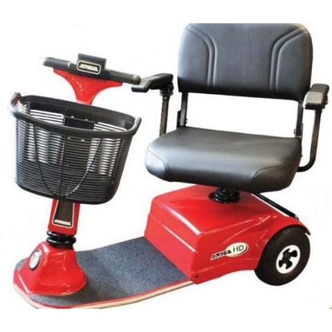 Amigo HD Heavy Duty Standard Mobility Scooter Basket and Seat View