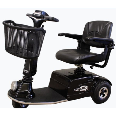 Amigo RD Rear Drive Standard Mobility Scooter Black Left Side View