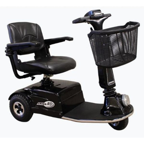 Amigo RD Rear Drive Standard Mobility Scooter Black Right Side View