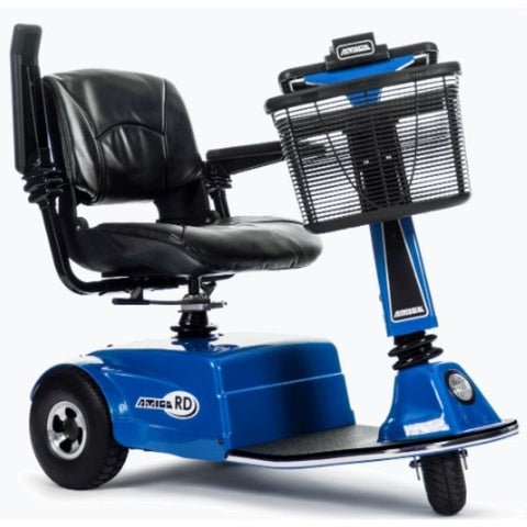 Amigo RD Rear Drive Standard Mobility Scooter Blue Front View