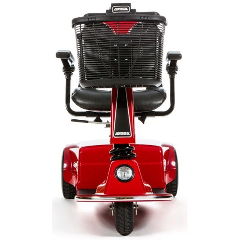 Amigo RD Rear Drive Standard Mobility Scooter Red Front View