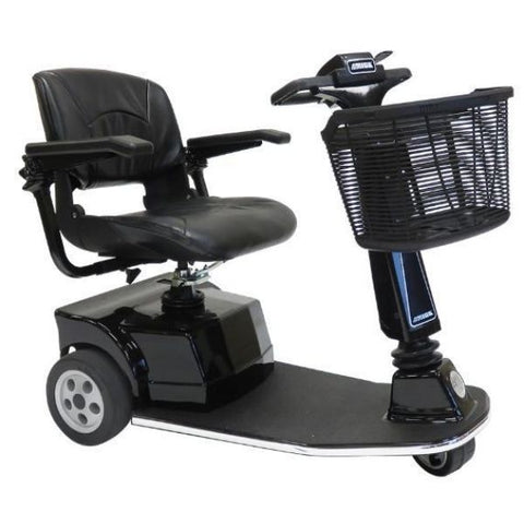 Amigo RT Express 3-Wheel Mobility Scooter Black Right Side View