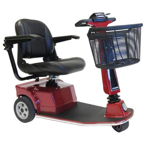 Amigo RT Express 3-Wheel Mobility Scooter Red Right Side View