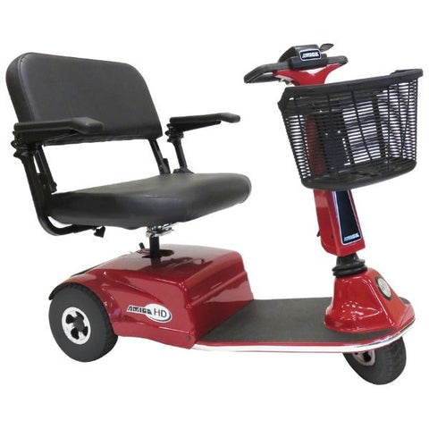 Amigo Shabbat Mobility Scooter Red Side View