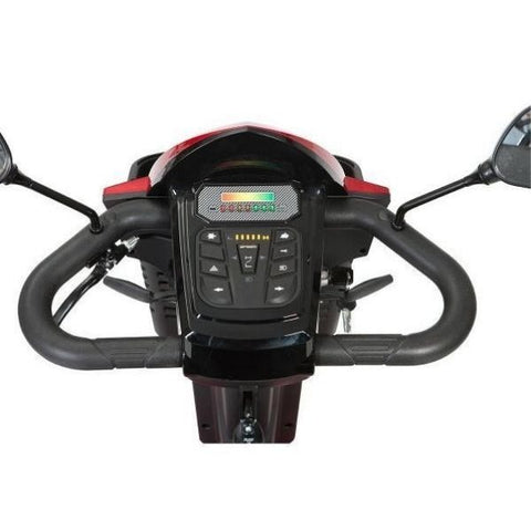 Drive Medical Panther 4 Wheel Scooter Tiller View