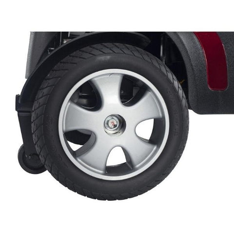 Drive Medical Phoenix HD 4 Wheel Scooter Rear Wheel View
