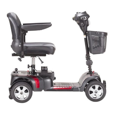 Drive Medical Phoenix HD 4 Wheel Scooter Side View