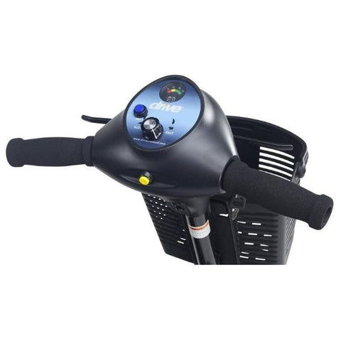 Drive Medical Phoenix HD 4 Wheel Scooter Tiller View