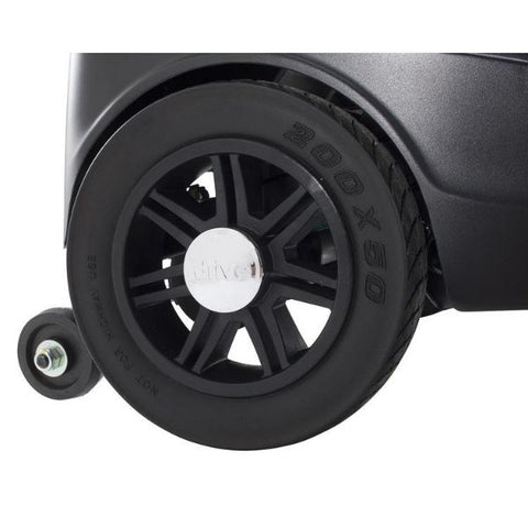 Drive Medical Scout 3 Wheel Scooter Tire View