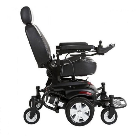 Drive Medical Titan AXS Electric Wheelchair Side View