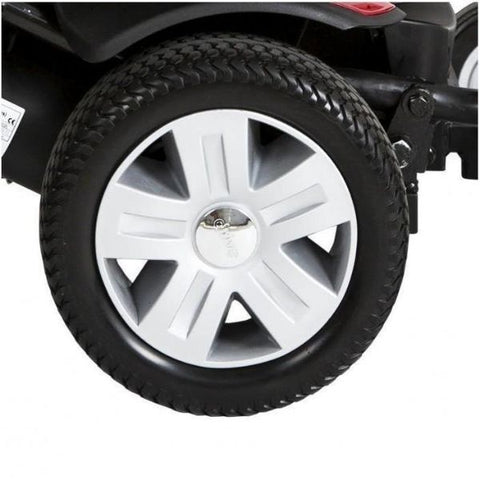 Drive Medical Titan AXS Electric Wheelchair Tire View