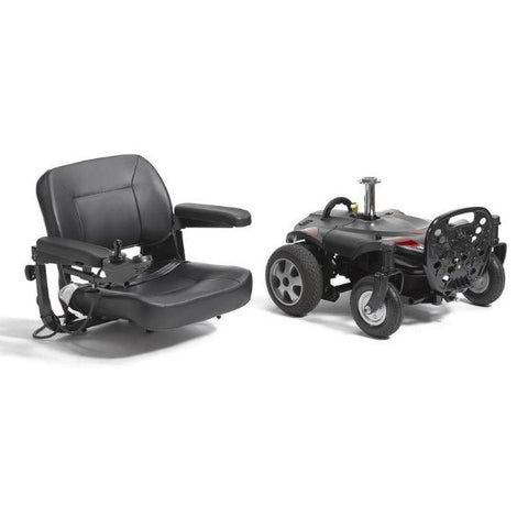 Drive Medical Titan LTE Power Chair Disassemble View