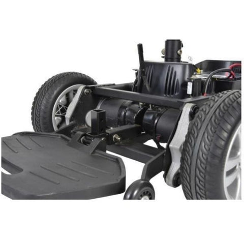 Drive Medical Titan P22 Power Chair Footplate View