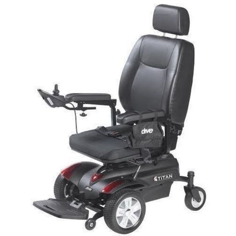 Drive Medical Titan P22 Power Chair Left Side View