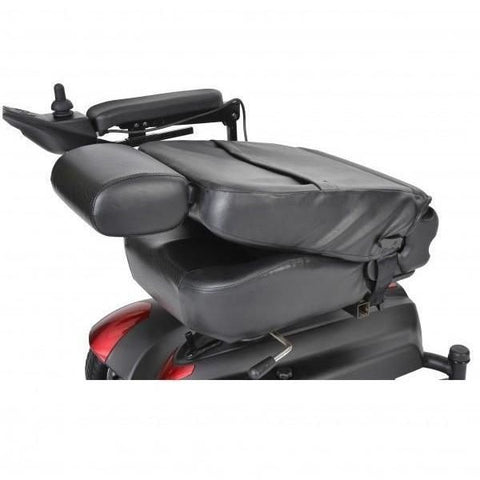 Drive Medical Titan Power Chair Folding Seat View