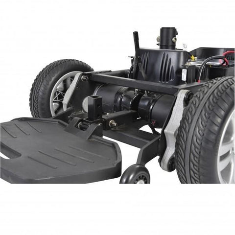 Drive Medical Titan Power Chair Footplate View