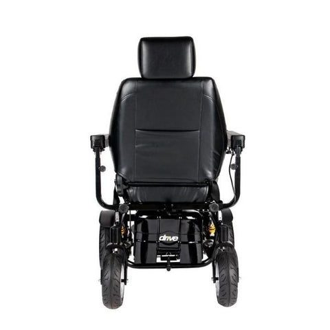 Drive Medical Trident HD Power Chair Back View