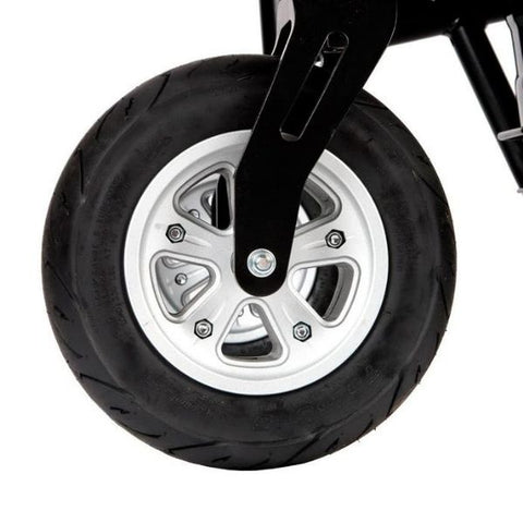 Drive Medical Trident HD Power Chair Front Wheel View