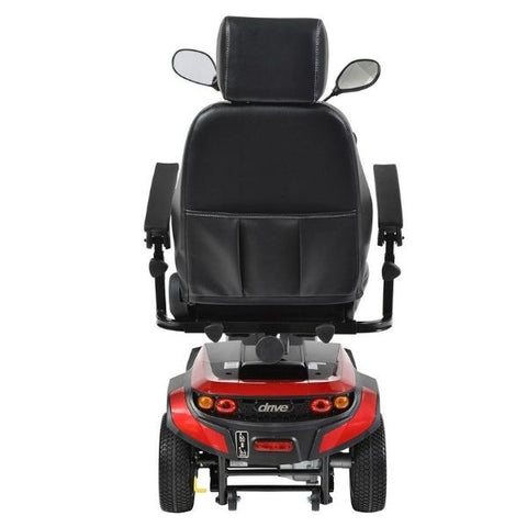 Drive Medical Ventura DLX 3 Wheel Scooter Back View