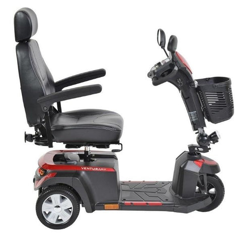 Drive Medical Ventura DLX 3 Wheel Scooter Side View