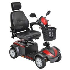 Drive Medical Ventura DLX 4 Wheel Scooter Front View