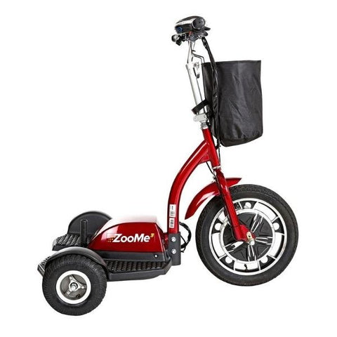 Drive Medical ZooMe 3 Wheel Scooter Side View