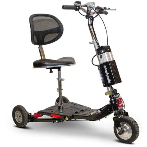 E-Wheels EW-07 EFORCE1 3-Wheel Scooter Black Right View