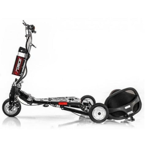 E-Wheels EW-07 EFORCE1 3-Wheel Scooter Folded View