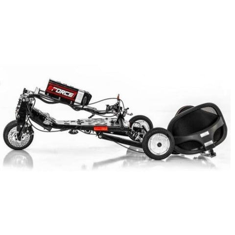 E-Wheels EW-07 EFORCE1 3 Wheel Scooter Folding View