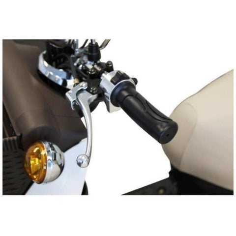 E-Wheels EW-11 Euro 3 Wheel Scooter Brake Levers Front and Rear View