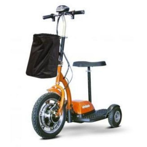 E-Wheels EW-18 3-Wheel Scooter Orange Front View