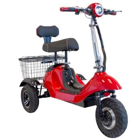 E-Wheels EW-19 Sporty 3-Wheel Scooter Front View