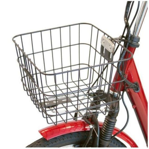 E-Wheels EW-29 Electric Trike Front Basket View