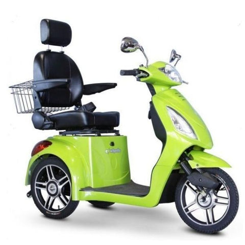 E-Wheels EW-36 3-Wheel Scooter Green Right View