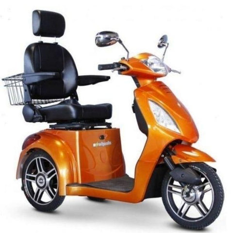 E-Wheels EW-36 3-Wheel Scooter Orange Right View