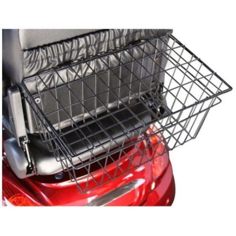 E-Wheels EW-36 3-Wheel Scooter Rear Basket View