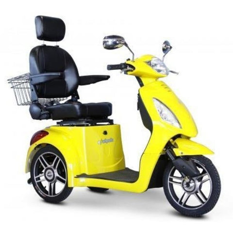 E-Wheels EW-36 3-Wheel Scooter Yellow Right View
