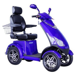 E-Wheels EW-72  4-Wheel Scooter - 500 lbs Blue Right View