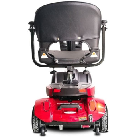 EV Rider CityCruzer Red Rear View