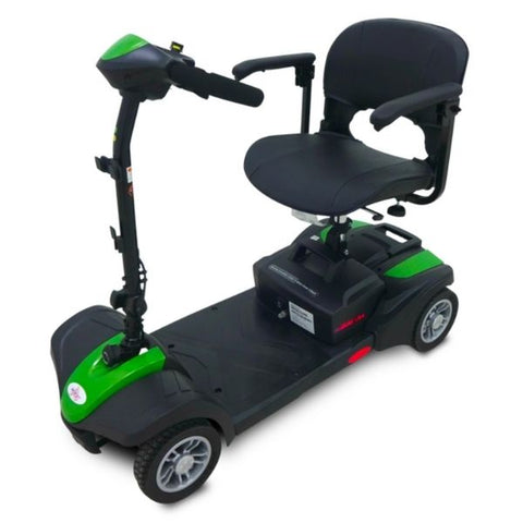 EV Rider MiniRider Lite 4 Wheel Mobility Scooter Pearl Green Left View