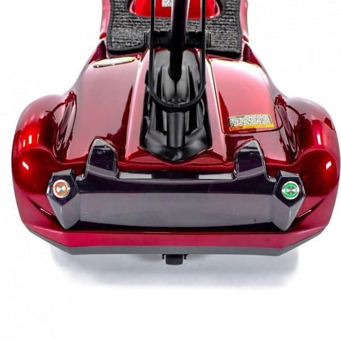 EV Rider Transport AF+ Deluxe Folding Electric Scooter Rear Bumper View