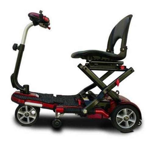 EV Rider Transport Plus Folding Mobility Scooter Side View
