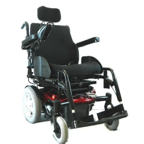 EV Rider Vision Electric Power Wheelchair with Elevating Seat - Heartway P13 Front View