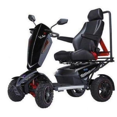 EV Rider Vita Monster 4 Wheel Scooter Heartway - S12X Left View