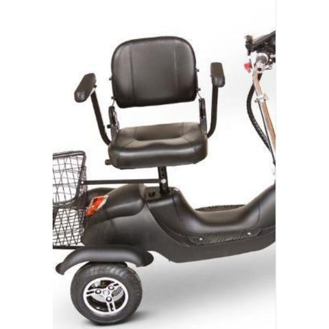 EWheels EW-20 Electric 3-Wheel  Scooter Adjustable Seat View