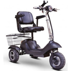 EWheels EW-20 Electric 3-Wheel Scooter Black Front View
